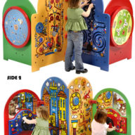 multi side kids play tables