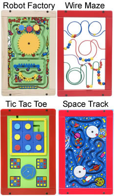 Robot Maze Tictactoe Space Wall Activity Game