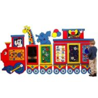 Circus Train Activity Center for kids